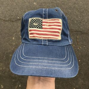 Polo Ralph Lauren American Flag Stitched Hat
